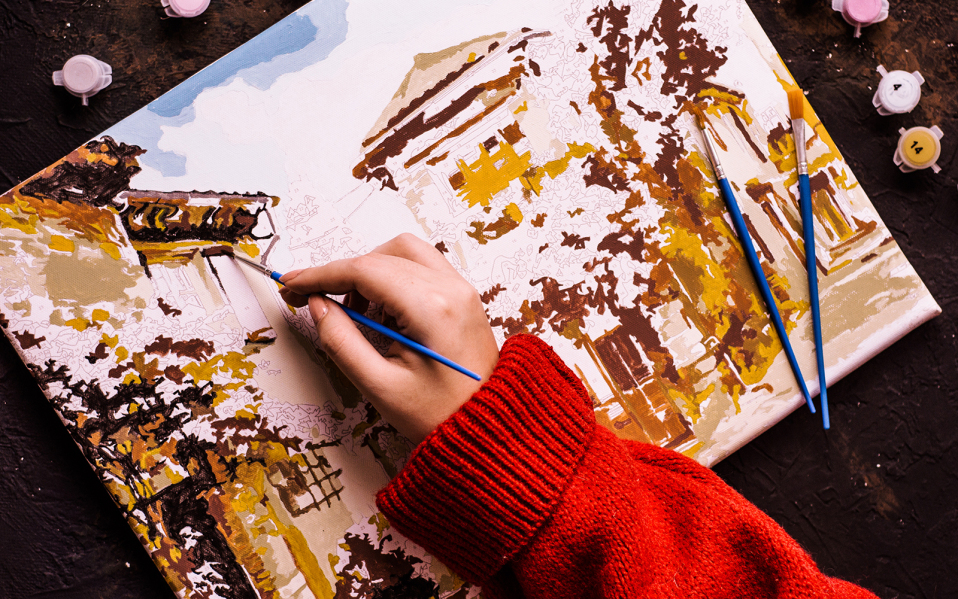 How To Overcome With The Minor Mistakes With The Help Of Paint By Numbers Kit?